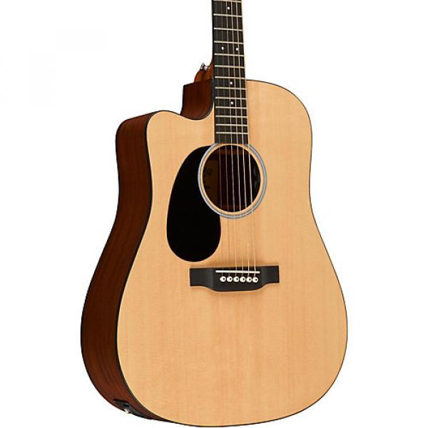 Martin Road Series Custom DCRSGT Dreadnought Left-Handed Acoustic-Electric Guitar Natural #1 image
