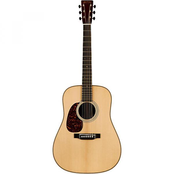 Martin Authentic Series 1937 D-28 VTS Dreadnought Left-Handed Acoustic Guitar Natural #1 image