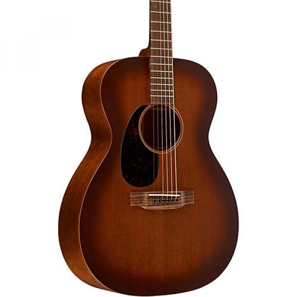 Martin 15 Series 000-15M Auditorium Left-Handed Acoustic Guitar Satin Burst #1 image
