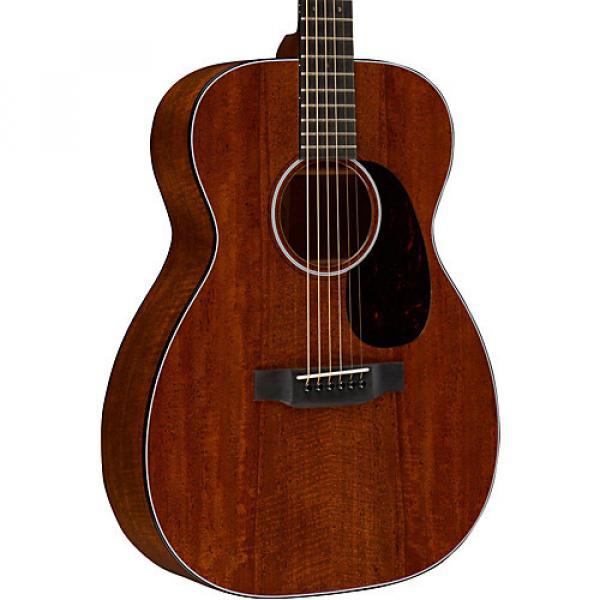 Martin Custom 00-18 Flamed Mahogany Acoustic Guitar Natural #1 image