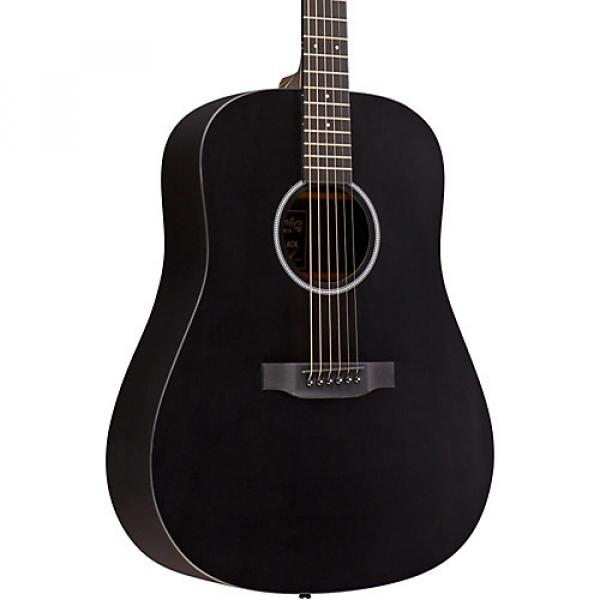 Martin X Series DXAE Dreadnought Acoustic-Electric Guitar Black #1 image