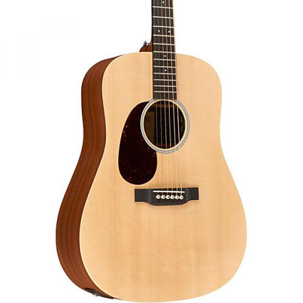 Martin X Series Custom DX1AE-L Dreadnought Left-Handed Acoustic-Electric Natural #1 image