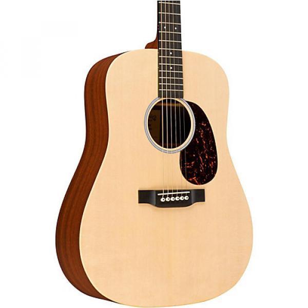 Martin X Series Custom DX1 Dreadnought Acoustic Guitar  Natural Natural #1 image