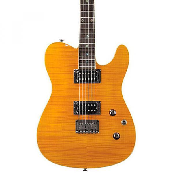 Fender Special Edition Custom Telecaster FMT HH Electric Guitar Amber #1 image
