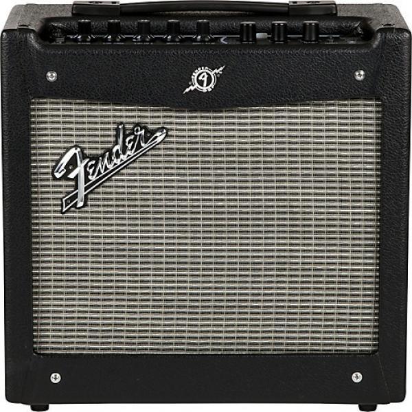 Fender Mustang I V.2 20W 1x8 Guitar Combo Amp Black #1 image
