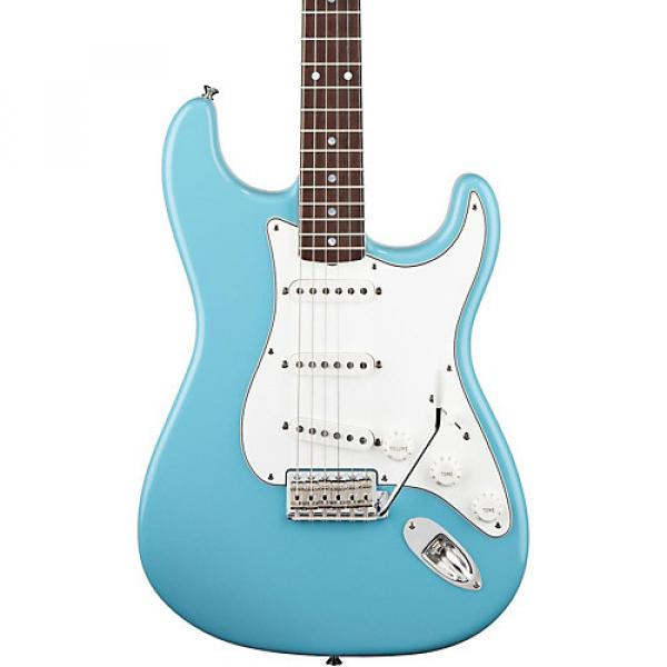 Fender Eric Johnson Stratocaster RW Electric Guitar Tropical Turquoise #1 image