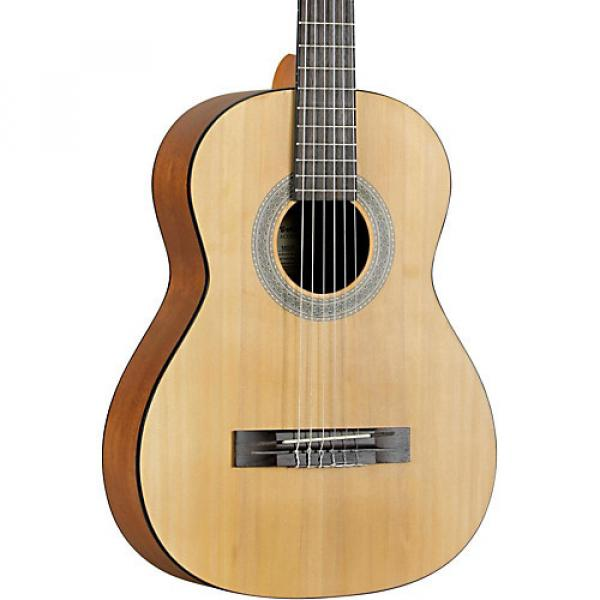 Fender MC-1 Parlor 3/4 Size Classical Guitar Agathis Top Satin Body Finish #1 image