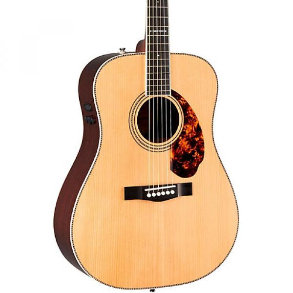 Fender Paramount Series Limited Edition PM-1 Dreadnought Acoustic-Electric Guitar Natural #1 image