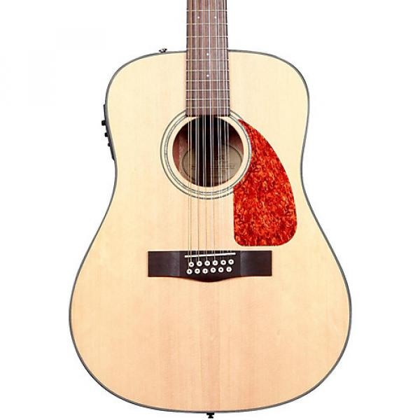 Fender Classic Design Series CD-160SCE Cutaway Dreadnought 12-String Acoustic-Electric Guitar Natural #1 image