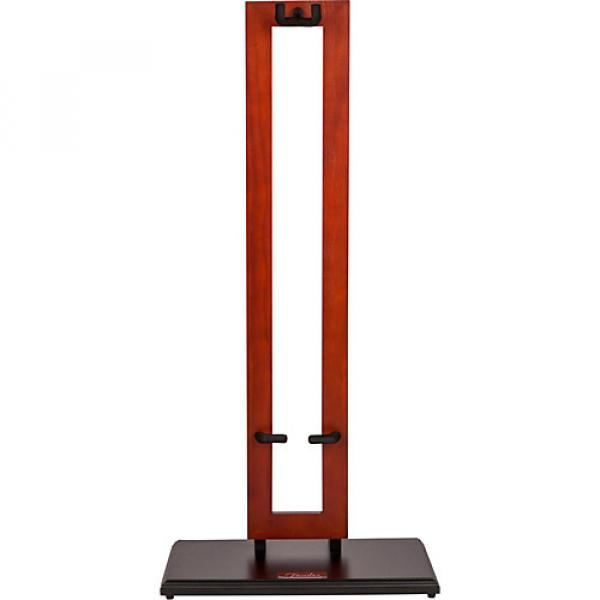 Fender Wood Hanging Guitar Stand Cherry Frame #1 image