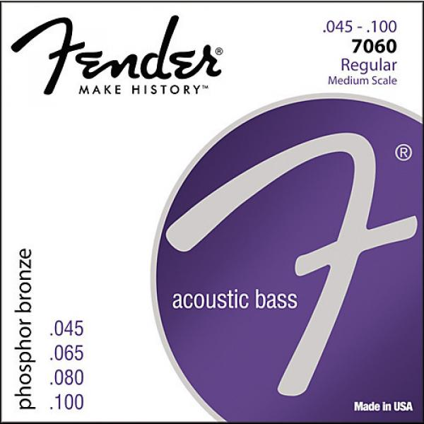 Fender 7060 Phospor Bronze Acoustic Bass Strings #1 image