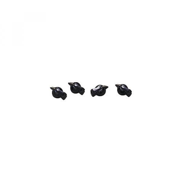 Fender Black Chicken-Head Amplifier Knobs #1 image