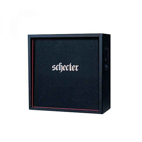 Schecter Guitar Research HR412-SUBSTE D. Charge Sub 4x12 Straight Guitar Speaker Cabinet Black #1 image