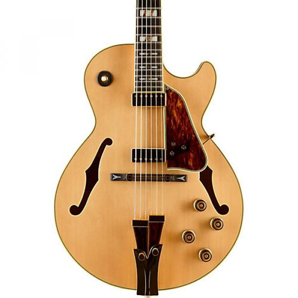 Ibanez GB10 George Benson Hollowbody Electric Natural #1 image