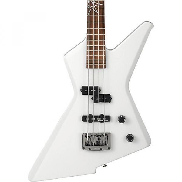 Ibanez MDB4 Mike D'Antonio Signature 4-String Electric Bass Guitar White #1 image
