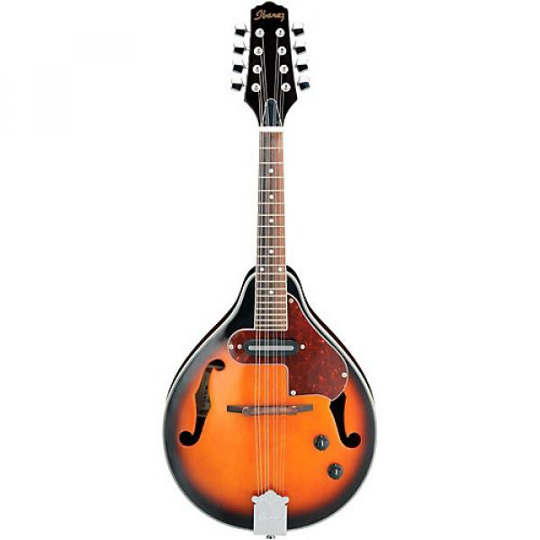 Ibanez M510E A-STYLE Acoustic-Electric Mandolin Brown Sunburst #1 image
