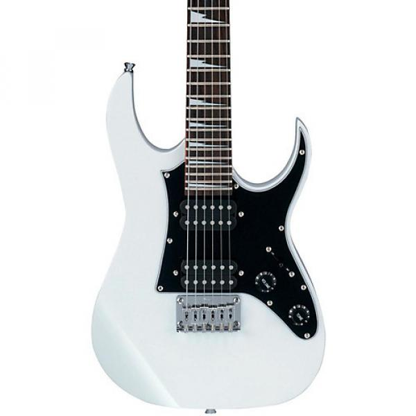 Ibanez GRGM21 Mikro Electric Guitar White #1 image