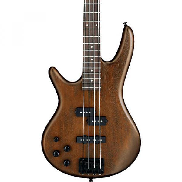 Ibanez GSR200BL 4-String Left-Handed Electric Bass Satin Walnut #1 image