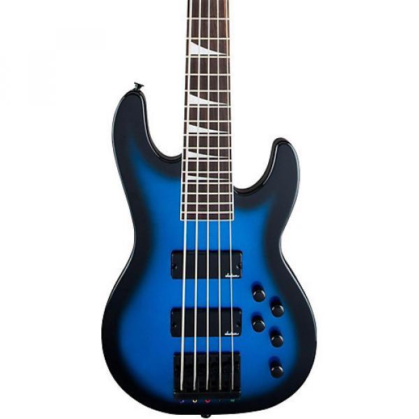 Jackson JS3V Concert 5-String Bass Metallic Blue Burst #1 image