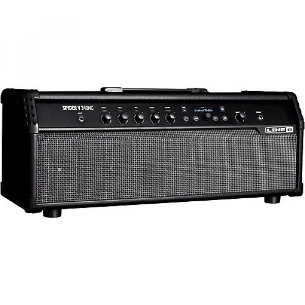 Line 6 Spider V 240HC 240W Head with Built-In Speakers Black #1 image