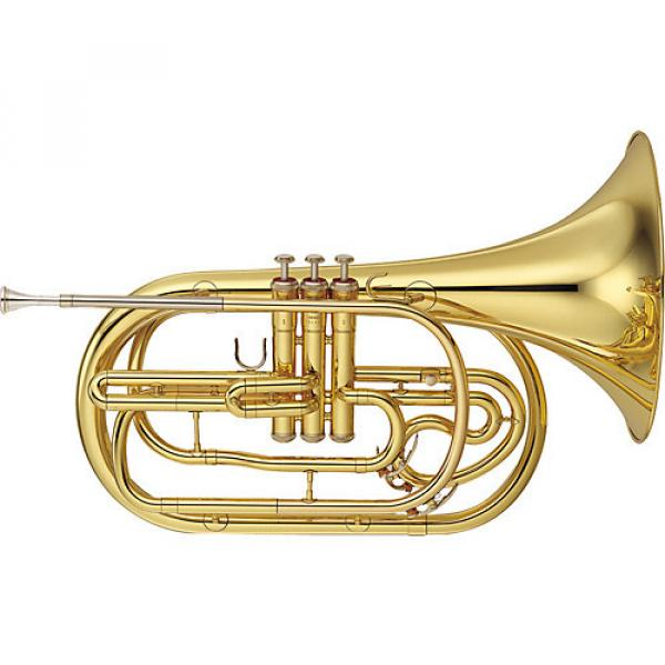 Yamaha YHR-302M Series Marching Bb French Horn Lacquer #1 image