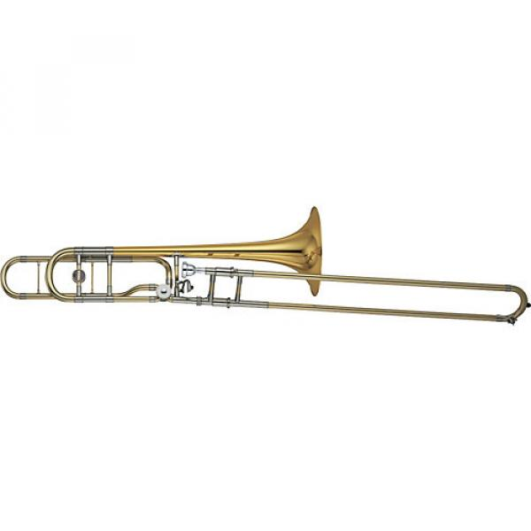 Yamaha YSL-882O Xeno Series F-Attachment Trombone Lacquer Gold Brass Bell #1 image