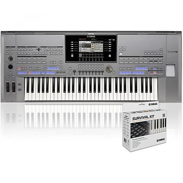 Yamaha Tyros5-61 with SK AW Survival Kit #1 image