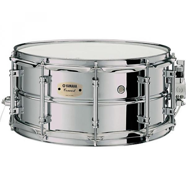 Yamaha Intermediate Concert Snare Drum; 1.2mm Chrome-Plated Steel Shell 14 x 6.5 in. #1 image