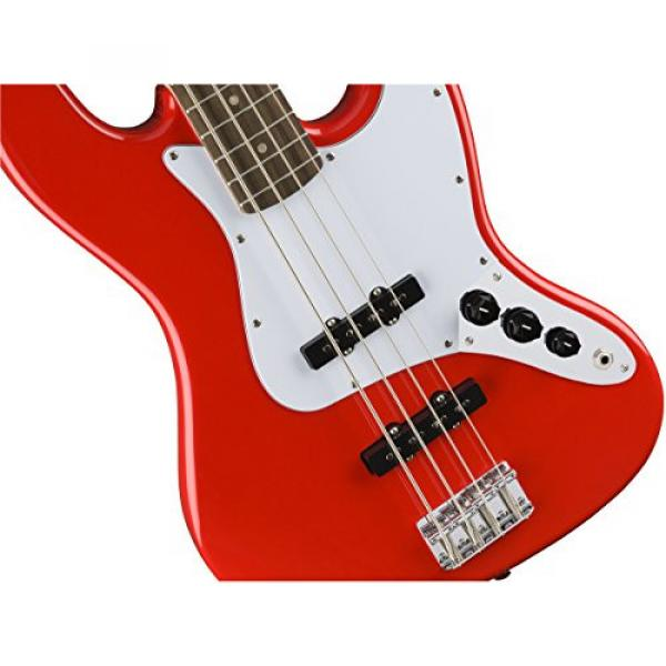Squier by Fender Affinity Jazz Beginner Electric Bass Guitar - Rosewood Fingerboard, Race Red #3 image