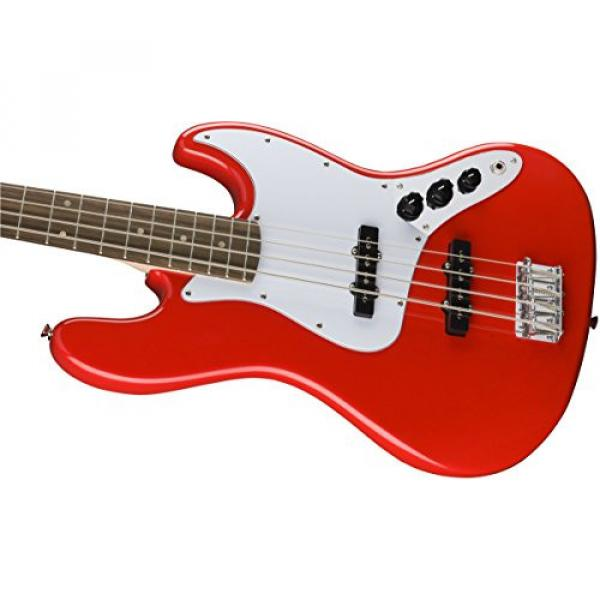 Squier by Fender Affinity Jazz Beginner Electric Bass Guitar - Rosewood Fingerboard, Race Red #5 image