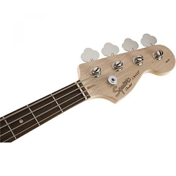 Squier by Fender Affinity Jazz Beginner Electric Bass Guitar - Rosewood Fingerboard, Race Red #6 image