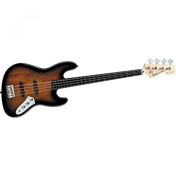 Squier Vintage Modified Jazz Bass Fretless, 3 Tone Sunburst #1 image