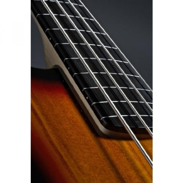 Squier Vintage Modified Jazz Bass Fretless, 3 Tone Sunburst #2 image