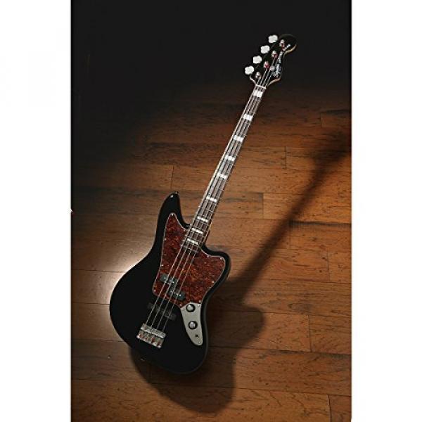 Squier Vintage Modified Jaguar Bass, Black #3 image