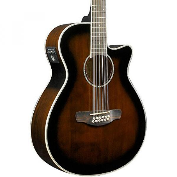 Ibanez AEG1812II AEG 12-String Acoustic-Electric Guitar Dark Violin Sunburst #1 image