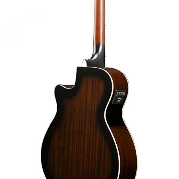 Ibanez AEG1812II AEG 12-String Acoustic-Electric Guitar Dark Violin Sunburst #5 image